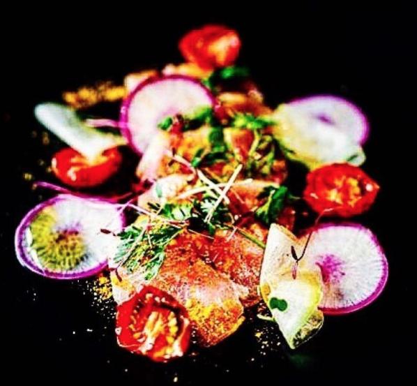 Chef Rex Hale - radish salad